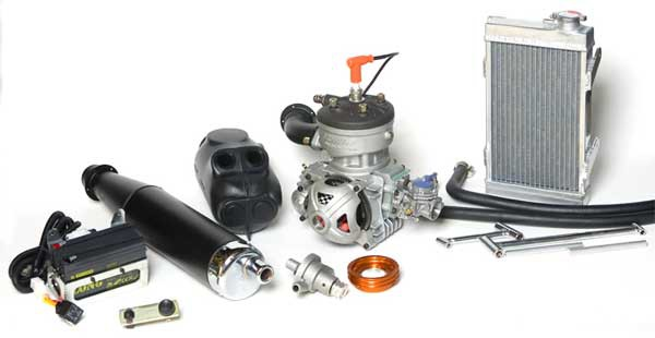 מנוע קארטינג 2 פעימות PRD FIREBALL